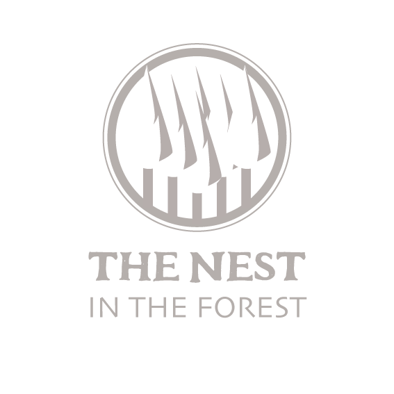 THE NEST IN THE FOREST Logo